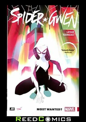 SPIDER-GWEN VOLUME 00 MOST WANTED GRAPHIC NOVEL New Paperback Collects #1-5