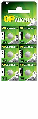 6 x GP LR41 192 1.5V Batteries GP192 AG3 392 SR41