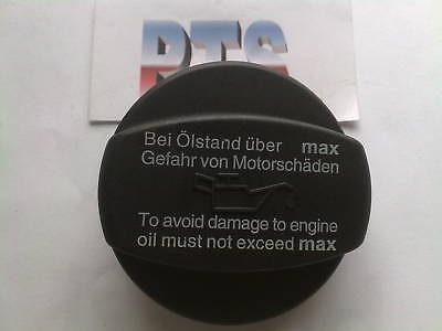 Oil Filler Cap For A Wide Variety Of Mercedes Benz Vehicles - New