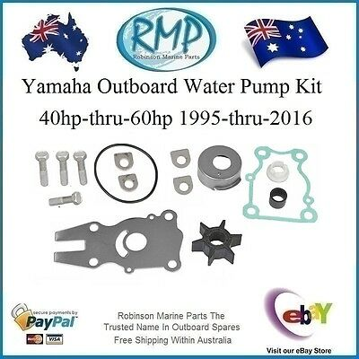A Nice New Yamaha Water Pump Kit 40hp-thru-60hp 1995-2018 # R 63D-W0078