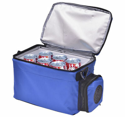HOMCOM 5L Car Fridge 12V Mini Refrigerator Travel Cooler Warmer Box