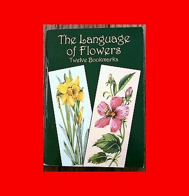 Small-Format Bookmarks: The Language of Flowers by Joan O'Brien (2004, Paperback