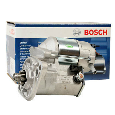GENUINE BOSCH Starter Motor for Isuzu Rodeo TFS 2.6L Petrol (4ZE1) 1989 to 1993