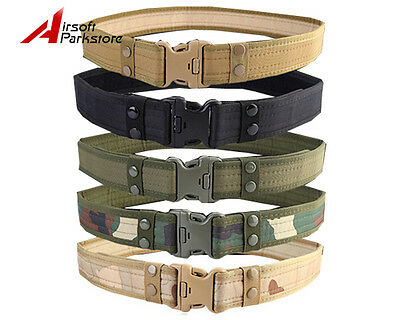 """2"""" Tactical Outdoor Military Security Police SWAT Utility Nylon Duty Pants Belt"""
