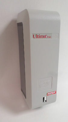 Soap Dispenser Ultima Katrin Grey L3 Washroom Wall Mounted Toilet #26D92