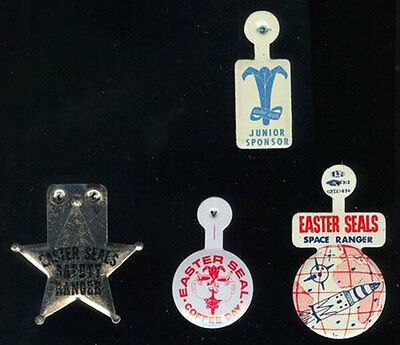 Easter Seals Pinback Collection