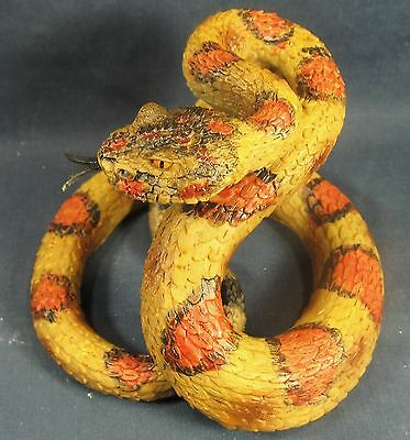 Rattlesnake southwestern reptile wildlife home decor figurine