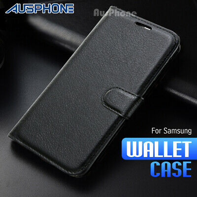 Wallet Leather Flip Case Cover For Samsung Galaxy J2 Pro 2018 J5 J7 Pro J8 A5 A8