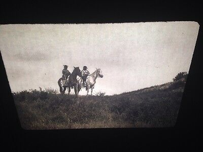 "Edward Curtis ""Big Road's Daughters"" Oglala Native American 35mm slide"
