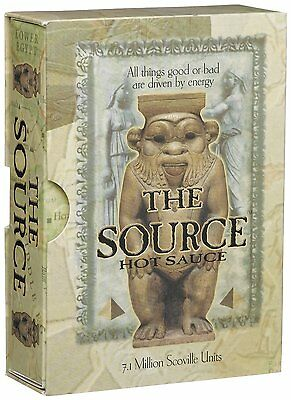 The Source - Extreme Heat Hot Chilli Extract Sauce 7.1m Scovilles *Hot Gift