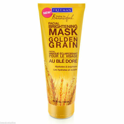 FREEMAN Mask Face Golden Grain Gel-Mask Hydrates and Brightens Dry Skin