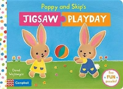 Poppy and Skip's Jigsaw Playday (Play Books), New,  Book