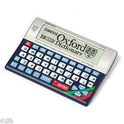 Seiko ER-6700 Concise Oxford English Dictionary Thesaurus Crossword Solver New