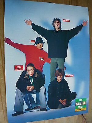 The Stone Roses - 80's Magazine Cutting (Full Page Photo) (Ref Te)