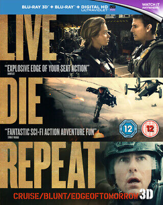 Edge of Tomorrow Blu-ray (2014) Tom Cruise