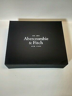 "New Abercrombie & Fitch  Gift Box !!! 13.5"" long 11.5"" deep 4"" tall"