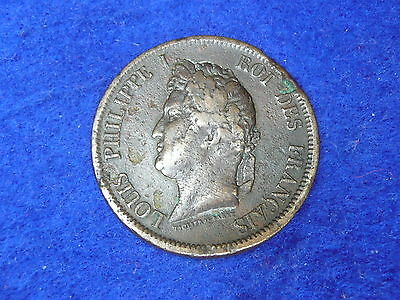 French Colonies 1843 10 Cent