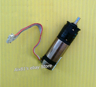 ESCAP 16 Coreless Cup Gear Motor DC 12V 540RPM Gear Motor With Encoder 16MM