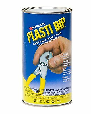 Performix 12213 Plasti Dip Black - 22 oz. Dip Can by Performix Easy to remove