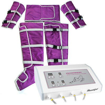 Pressotherapy Air Pressure Slimming Detoxin Slimming Lymphatic Drainage Suit Spa