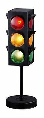 Traffic Light Lamp Red Yellow Green Stop Lights Kids Room Fun Toy Gift Vintage