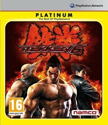 Tekken 6 - Platinum Edition (Sony PS3) PlayStation 3