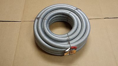 """Southwire Alflex 50ft 1"""" Inch Flexible Steel Metal Conduit Type RW Reduced Wall"""