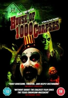 House of 1000 Corpses DVD (2005) Sid Haig, Zombie (DIR) cert 18 Amazing Value