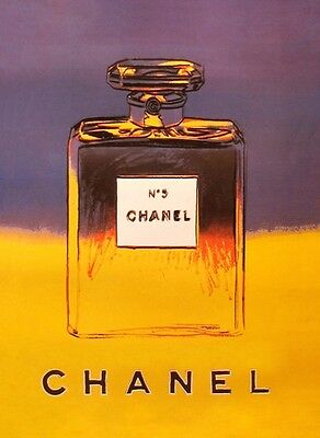 Vintage Chanel No.5  Andy Warhol Advertisement Art  Poster A3 Re Print