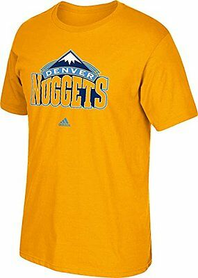 NBA Denver Nuggets Mens Full Primary Logo Tee, XX-Large, Gold