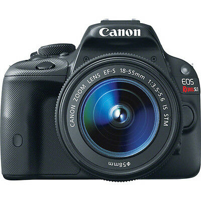 Canon EOS Rebel SL1 DSLR Camera with EF-S 18-55mm f/3.5-5.6 IS STM Lens!! NEW!!