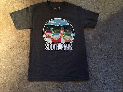 South Park Official Small T-Shirt Kenny Kyle Cartman Stan