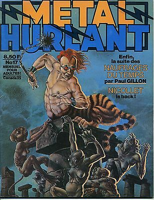 Metal Hurlant N° 17 Nicollet Gillon Clerc Caza Claveloux Bilal F'murr Dionnet