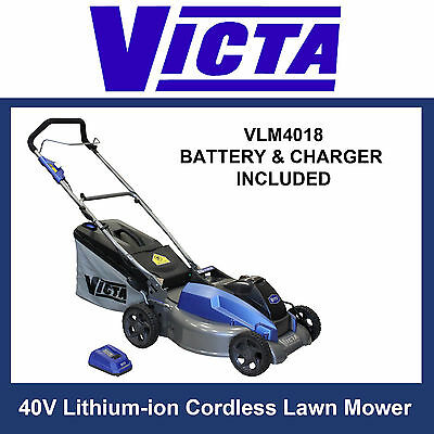 Victa V-Force+ 40V Cordless Lawn Mower - Battery & Charger included