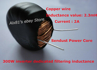 Sendust Power Core Chip Magnetic Coil Inductor Inductance Coil  Inverter 2A 300W