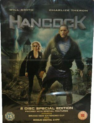 Hancock Steelbook 2 Disc Special Edition DVD Incredible Value and Free Shipping!