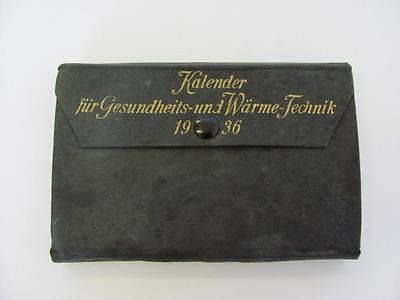 1936 Vintage German Engineering Manual Guide Almanach