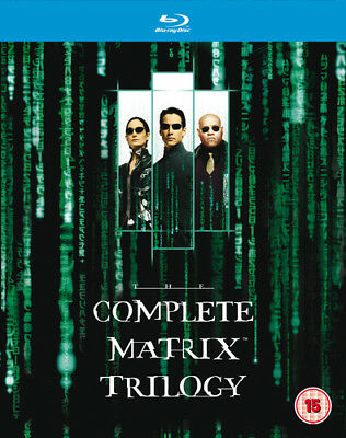 The Matrix Trilogy Blu-Ray (2008) Keanu Reeves ***NEW***