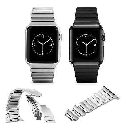 316L Link Bracelet Butterfly Stainless Steel Band Strap For Apple Watch 42MM