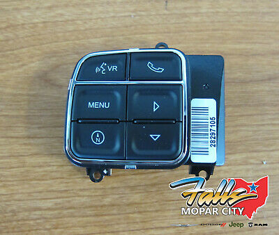 2012-2018 Chrysler Dodge Jeep Hands Free Uconnect Steering Wheel Switch OEM