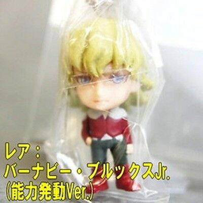 Tiger and Bunny Real Face Swing Pao Lin Blue Eyes Mascot Key Chain
