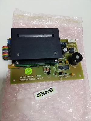 Technidyne Corp. Pmt8Pcb1030 Rev 2 With  Ifm001-01B Circuit Board