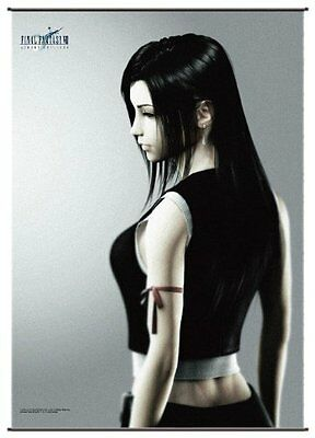 Final Fantasy Tifa Square Enix Cloth Wall Scroll Poster Anime Manga MINT