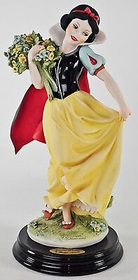 """Giuseppe Armani """" SNOW WHITE WITH FLOWERS""""#1529 C RETIRED 2006"""