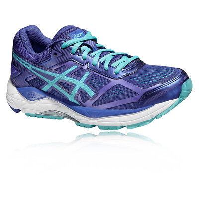ASICS Gel-Foundation 12 Womens Blue Purple Running Sports Shoes Trainers