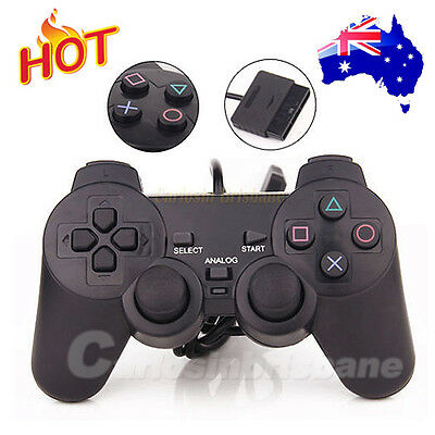 Dual Shock Gamepad Joystick Wired for Sony Playstation 2 PS2 Controller
