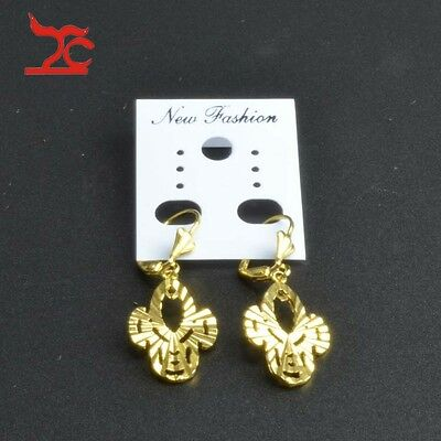 200 White Paper Earring Necklace Bracelet Fashion Jewelry Display Card Hang Tag