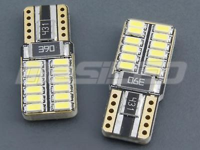 2 Bombillas led coche moto Canbus T10 W5W 24 smd 4010 SAMSUNG 5000K - led bulbs