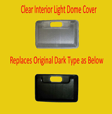 Clear Interior Light Dome Cover Replaces Dark Type for Mazda MX5 Mk2 1998-2004