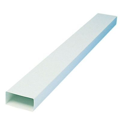 Rectangular Trunking Ducting 110x50 Ventilation Extractor Fan Skirting 150mm PVC